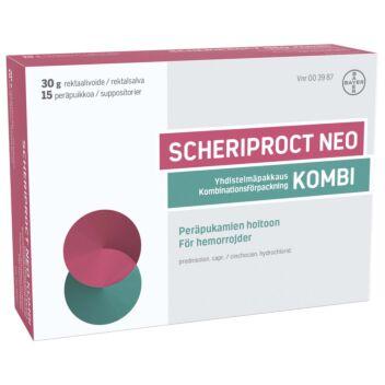 SCHERIPROCT NEO KOMBI PERÄPUIKKO JA REKTAALIVOIDE 15 + 30 g