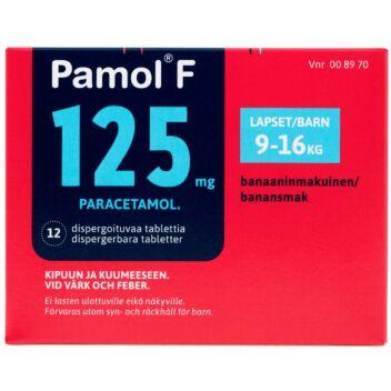 PAMOL F 125 MG HAJOAVA TABLETTI 12 fol