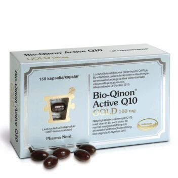 BIO-QINON ACTIVE Q10 GOLD 100MG KAPSELI 150 KPL
