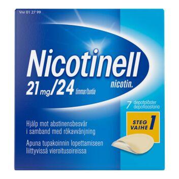 NICOTINELL DEPOTLAASTARI 21MG / 24TUNTIA