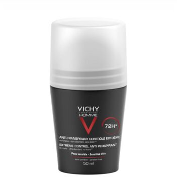 VICHY HOMME 72H EXTREME CONTROL ANTIPERSPIRANT ROLL-ON 50 ML
