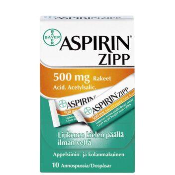 ASPIRIN ZIPP RAKEET 500MG
