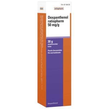 DEXPANTHENOL RATIOPHARM EMULSIOVOIDE 50MG/G