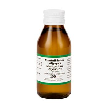 MENTOLIRISIINIÖLJYSPRII DF 2004 LIUOS IHOLLE 100 ml
