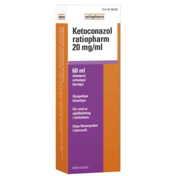 KETOCONAZOL RATIOPHARM SHAMPOO 20 MG/ML