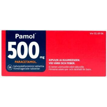 PAMOL TABLETTI 500MG