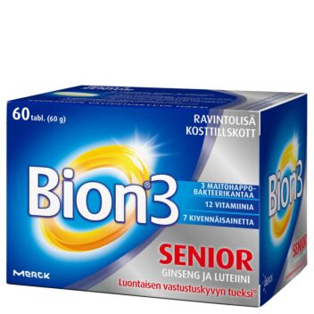 BION3 SENIOR TABL 60 KPL