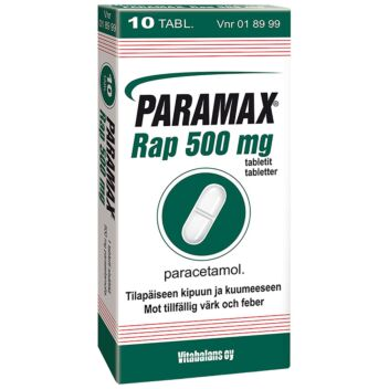 PARAMAX RAP TABLETTI 500 MG