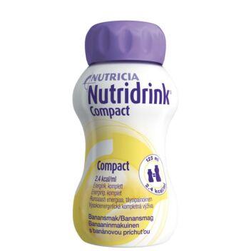 NUTRIDRINK COMPACT BANAANI 4X125 ML