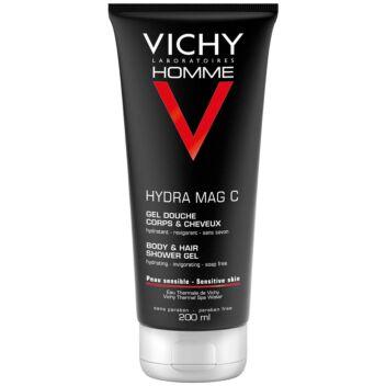VICHY HOMME SUIHKUGEELI HYDRA MAG C 200 ML