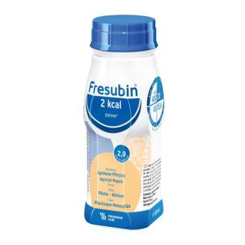 FRESUBIN 2 KCAL DRINK APRIKOOSI-PERSIKKA NESTE, TÄYDENNYSRAVINTOVALMISTE APRIKOOSI-PERSIKKA 4 X 200 ML