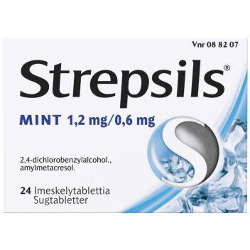STREPSILS MINT IMESKELYTABLETTI 24 fol