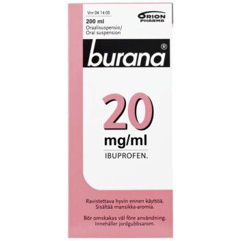 BURANA 20 MG/ML SUUN KAUTTA OTETTAVA LIUOS 200 ml
