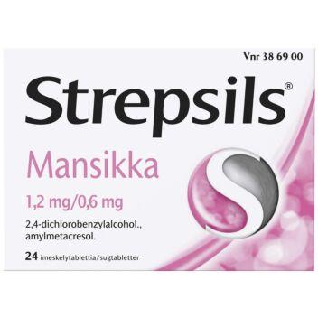STREPSILS MANSIKKA IMESKELYTABLETTI