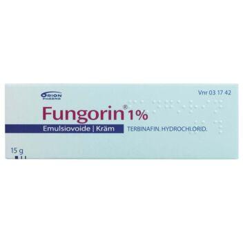 FUNGORIN 1 % EMULSIOVOIDE 15 g
