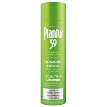 PLANTUR 39 FYTOKOFEIINISHAMPOO OHUET/HENNOT HIUKSET 250 ML