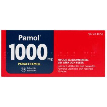PAMOL 1000 MG TABLETTI 15 fol