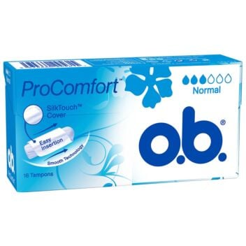 OB PROCOMFORT NORMAL TAMPONI 16 KPL