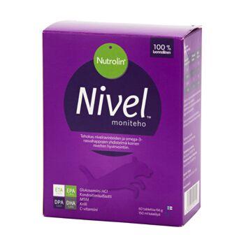 NUTROLIN NIVEL MONITEHO KOIRILLE KALAÖLJY+TABL 150ML+60 KPL