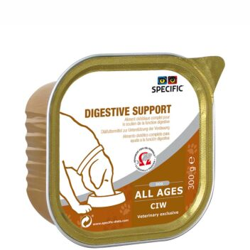 SPECIFIC CIW DIGESTIVE SUPPORT KOIRALLE 6X300 G