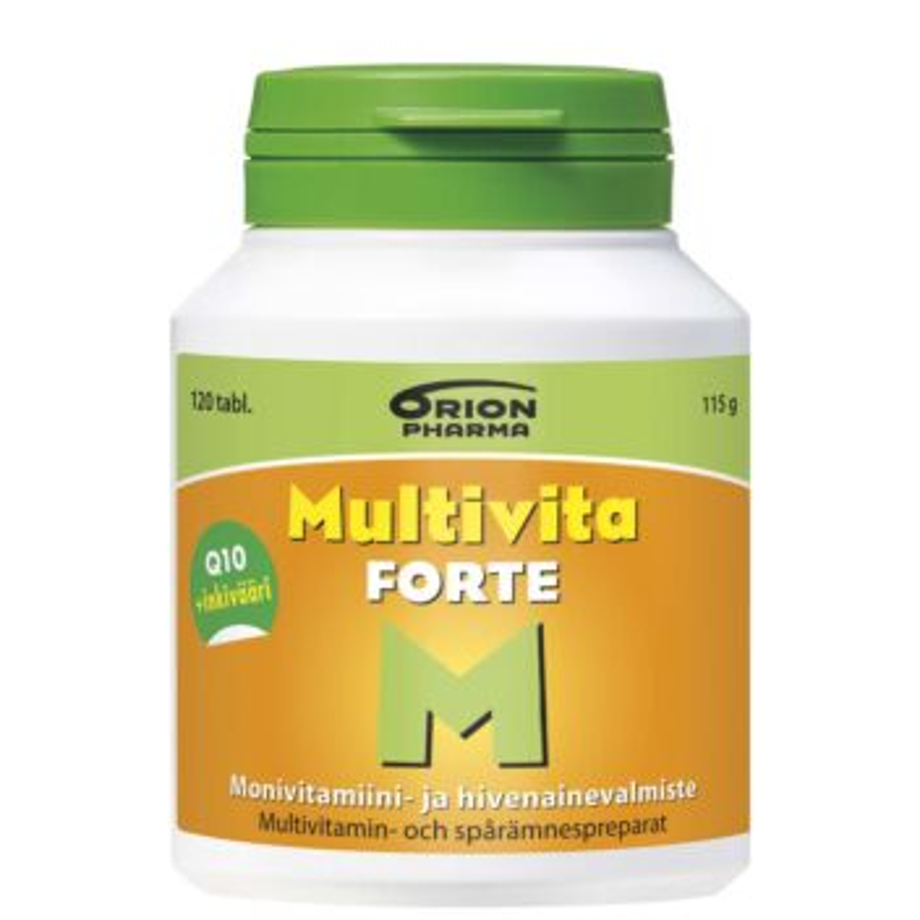 MULTIVITA FORTE TABL 120 KPL