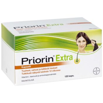 PRIORIN EXTRA KAPS 120 KPL