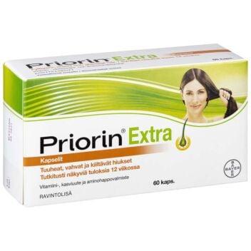 PRIORIN EXTRA KAPS 60 KPL