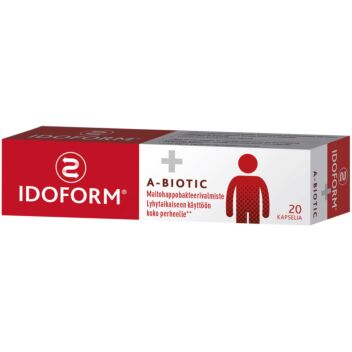 IDOFORM A-BIOTIC KAPS 20 KPL