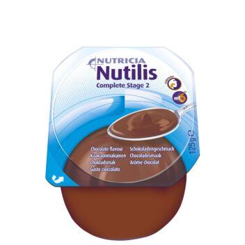 NUTILIS COMPLETE STAGE 2 KAAKAO VANUKAS, TÄYDENNYSRAVINTOVALMISTE 4 X 125 G