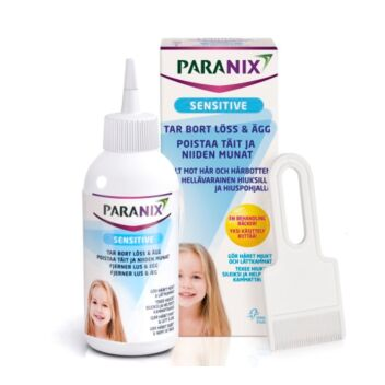 PARANIX SENSITIVE LIUOS 150 ML