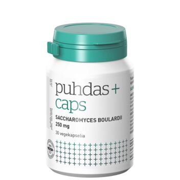 PUHDAS+ CAPS SACCHAROMYCES BOULARDII KAPS 30 KPL