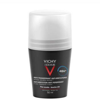 VICHY HOMME 48H ANTI-IRRITATION ANTIPERSPIRANT ROLL-ON 50 ML