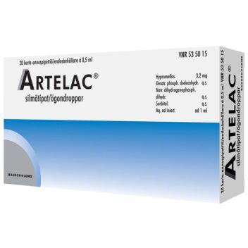 ARTELAC SILMÄTIPAT, KERTA-ANNOSPIPETTI 3,2MG/ML