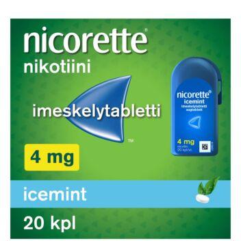 NICORETTE ICEMINT IMESKELYTABLETTI 4MG