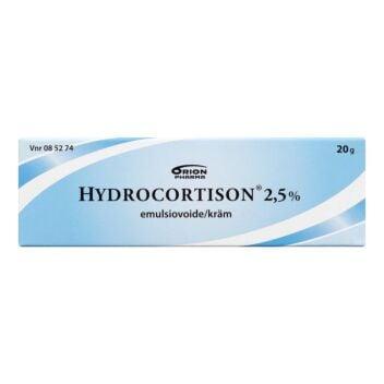 HYDROCORTISON EMULSIOVOIDE 2,5%