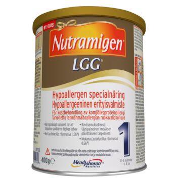 NUTRAMIGEN 1 LGG JAUHE, IMEVÄISTEN RAVINTOVALMISTE 400 G