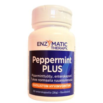 PEPPERMINT PLUS KAPS 60 KPL