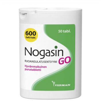 NOGASIN GO PURUTABL 50 KPL
