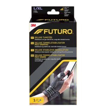 FUTURO DELUXE PEUKALOTUKI L/XL MUSTA 1 KPL