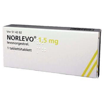 NORLEVO 1,5 MG TABLETTI 1 fol