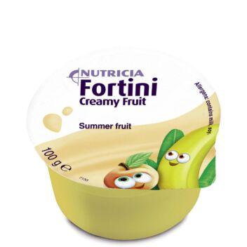FORTINI CREAMY FRUIT MULTI FIBRE KESÄHEDELMÄ 4X100 G