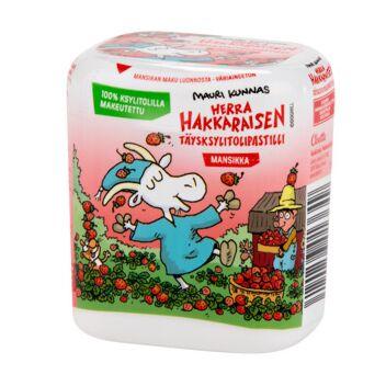 HERRA HAKKARAISEN MANSIKKA KSYLITOLIPASTILLI 55 G