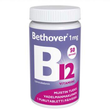 BETHOVER 1 MG B12-VITAMIINI TABL 50 KPL