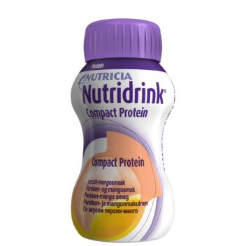 NUTRIDRINK COMPACT PROTEIN PERSIKKA-MANGO 4X125 ML