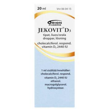JEKOVIT D3 2440 IU/ML TIPAT 20 ml