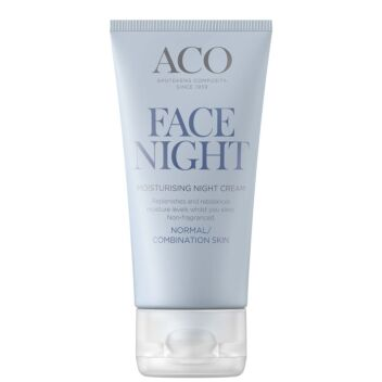 ACO FACE MOISTURISING NIGHT CREAM HAJUSTEETON 50 ML