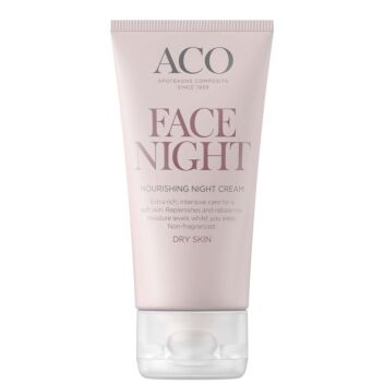 ACO FACE NOURISHING NIGHT CREAM HAJUSTEETON 50 ML