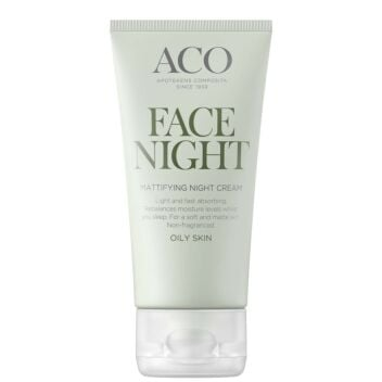 ACO FACE MATTIFYING NIGHT CREAM HAJUSTEETON 50 ML