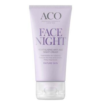 ACO FACE REVITALISING ANTI AGE NIGHT CREAM 50 ML