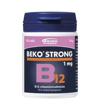 BEKO STRONG B12 1MG TABL 100 KPL